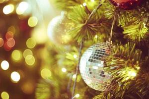 decoração de natal brilhante foto