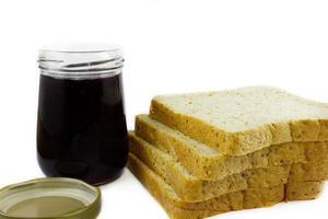 pão com bebida