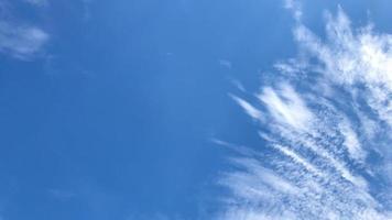 céu claro para imagens de fundo no trabalho de design