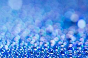 fundo azul bokeh foto