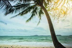 o mar em koh chang, tailândia foto