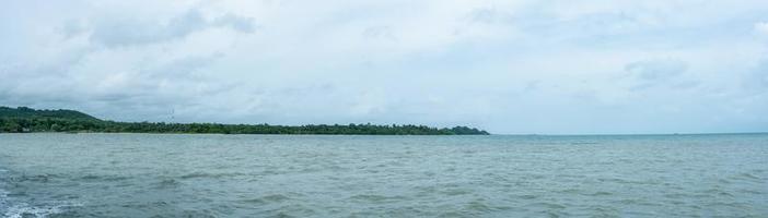 o mar em koh chang, tailândia