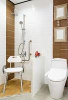 cadeira no chuveiro