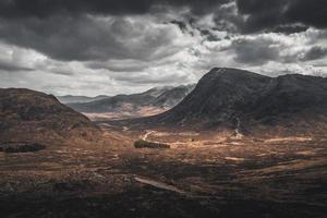 vale nas terras altas da Escócia