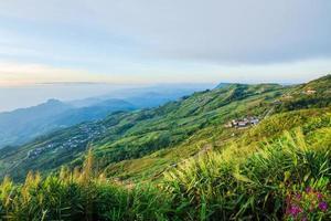 paisagem em phu tubberk na tailândia