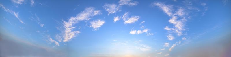 nuvens no céu foto