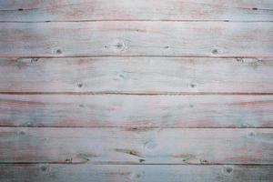 madeira azul-branca pastel com fundo de parede de prancha texturizada com lavagem foto