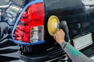 equipamento de polimento de carro