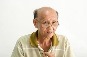 retrato de um homem velho foto