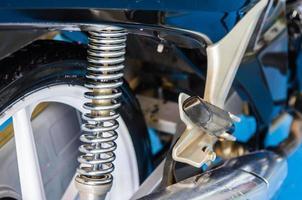 amortecedor de motocicleta foto