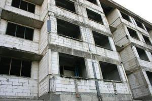 antigo prédio de concreto
