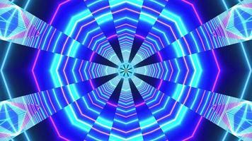 abstrato brilhante azul 3d ilustração visual fundo papel de parede design arte