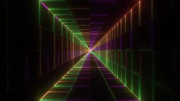 efeitos de luzes escuras ilustração 3d abstrato fundo papel de parede design arte