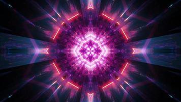 Resumo brilhante santo brilho ilustração 3d fundo visual papel de parede design arte