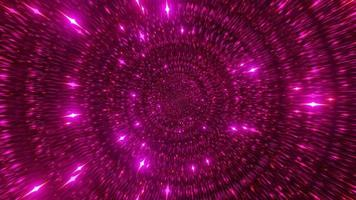 partículas de espaço vermelho ficção científica 3d ilustração fundo papel de parede design arte