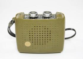 rádio transistor vintage