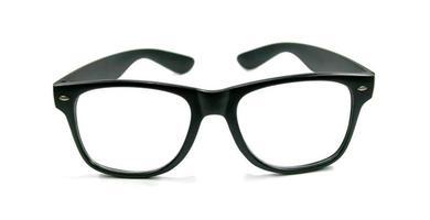 óculos de armação preta