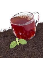 chá seco fresco