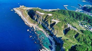 costa nordeste de taiwan durante o dia foto
