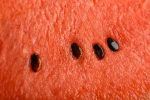 close-up detalhado de fundo de melancia foto