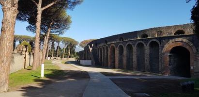 ruínas de pompéia na itália