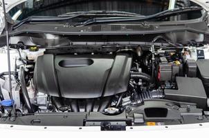 detalhes de um novo motor de carro
