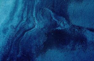 cimento azul áspero foto