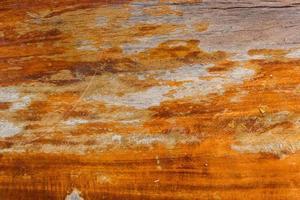close-up da mesa de madeira para o fundo