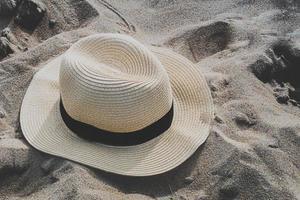 chapéu de praia de verão