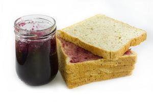 geléia com pão