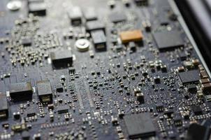 placa de circuito de computador foto