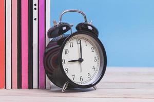close-up de um despertador