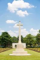 cruze no cemitério foto