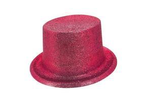chapéu de festa vermelho