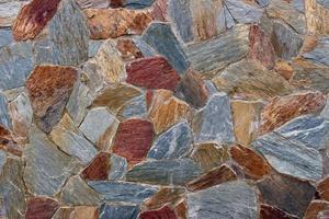 textura de pedra colorida foto