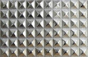 padrão de metal prateado
