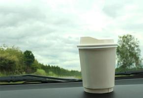 café no console foto