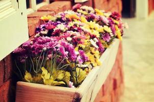 caixa de janela floral