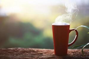 vapor de café foto