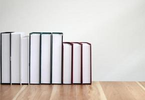 fila de livros