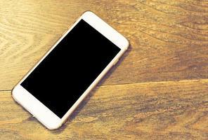 tela em branco telefone inteligente foto