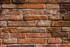 parede de tijolos para textura ou fundo foto