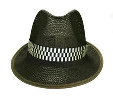 chapéu fedora preto