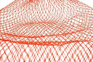 rede de malha laranja