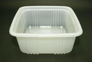 caixa de comida de plástico
