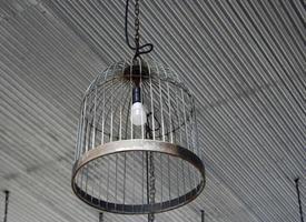 luz de teto industrial foto