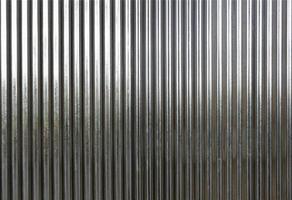 textura de metal ondulado foto