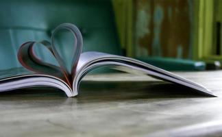 páginas do livro do coração foto
