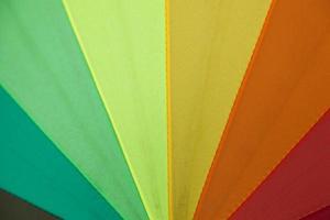 cores do guarda-chuva foto