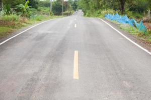 estrada de asfalto close-up foto